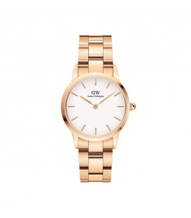 DANIEL WELLINGTON Iconic Link Rose Gold Stainless Steel Bracelet 28mm