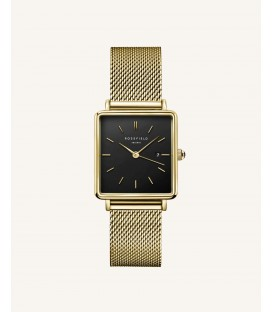 Rosefield The Boxy Black Gold