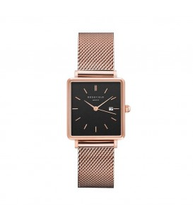 Rosefield The Boxy Black Roz Gold