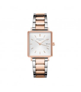 ROSEFIELD The Boxy Roz Gold Stainless Steel Bracelet