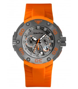 Quantum Hunter Rubber Chronograph  HNG470.060
