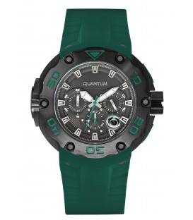 Quantum Hunter Rubber Chronograph HNG470.655