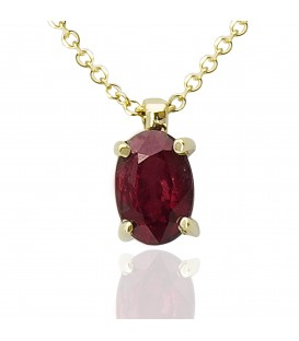 Pendant whitegold and gold with diamond