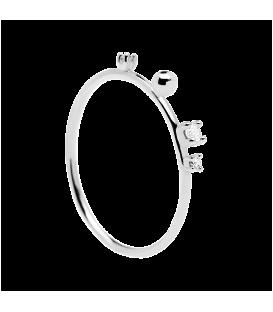 Δαχτυλίδι PD PAOLA KAYA SILVER