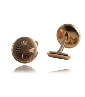 Cuff links gold
