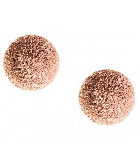 Σκουλαρίκια μπάλες ασημένια