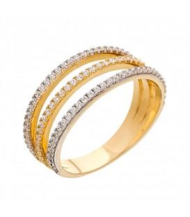 Δαχτυλίδι Μισόβερο τριπλό