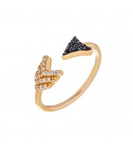 Δαχτυλίδι τόξο από χρυσό