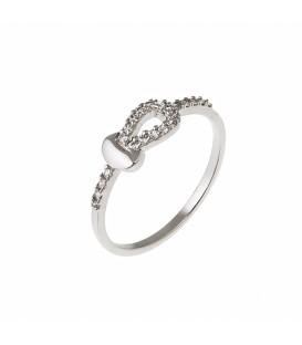 Δαχτυλίδι από λευκό χρυσό