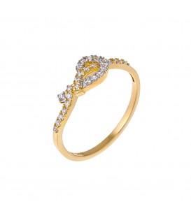 Δαχτυλίδι από κίτρινο χρυσό