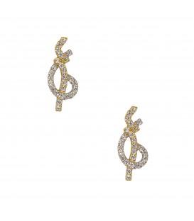 Σκουλαρίκια Fashion χρυσά