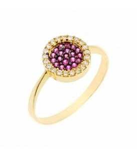 Δαχτυλίδι στόχος από χρυσό
