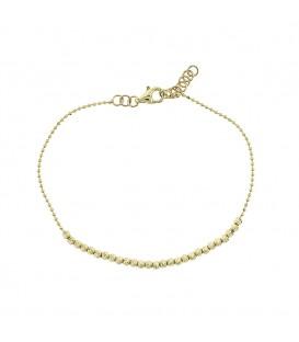 Fashion Βραχιόλι από κίτρινο χρυσό